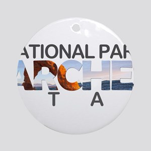 Arches - Utah Round Ornament