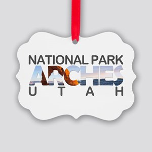 Arches - Utah Picture Ornament