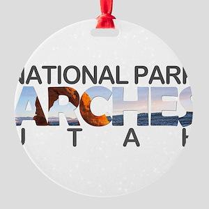 Arches - Utah Round Ornament