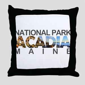 Acadia - Maine Throw Pillow