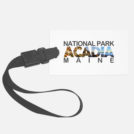 Acadia - Maine Luggage Tag