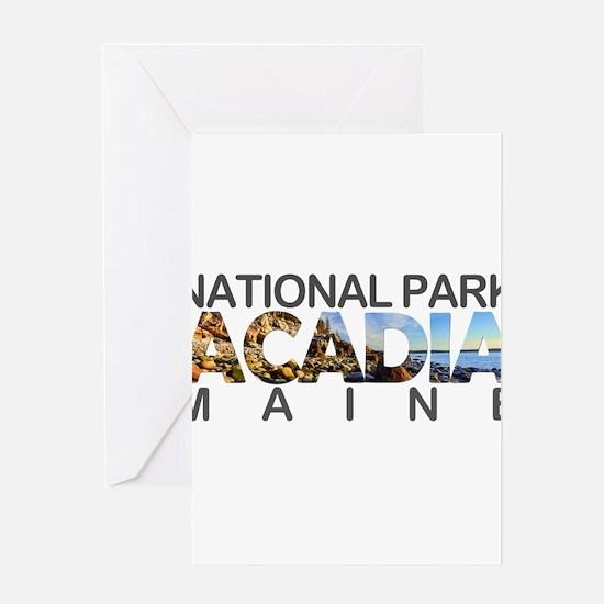 Acadia - Maine Greeting Cards