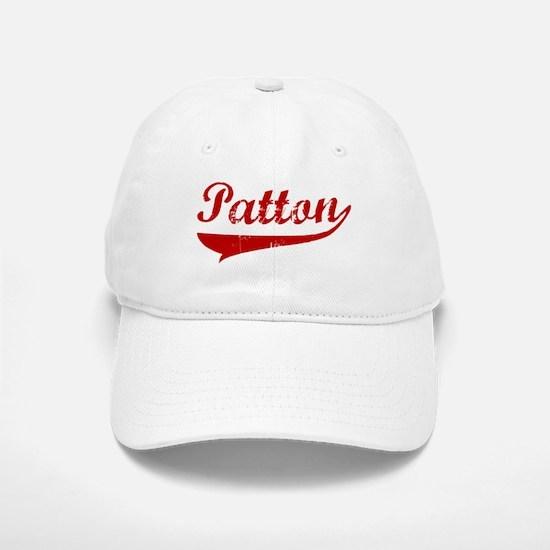 Patton (red vintage) Baseball Baseball Cap