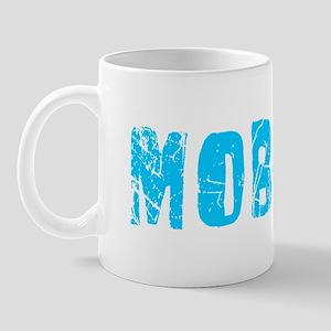 Mobile Faded (Blue) Mug