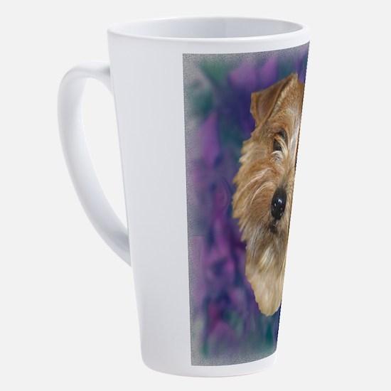 Cute Norwich terrier 17 oz Latte Mug