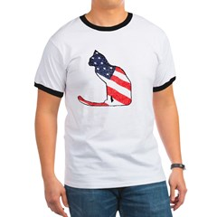 Patriotic Cat T
