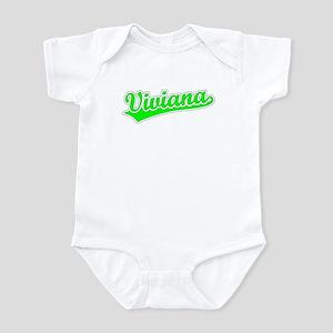 Retro Viviana (Green) Infant Bodysuit