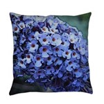 Butterfly Bush Everyday Pillow