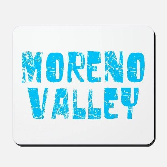 Moreno Valley Faded (Blue) Mousepad