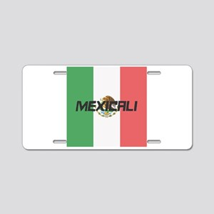 Mexicali Aluminum License Plate