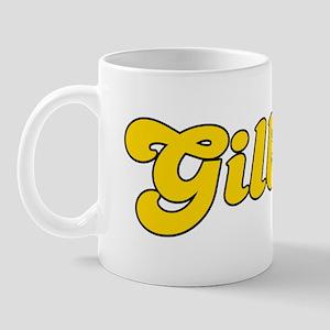 Retro Gilbert (Gold) Mug