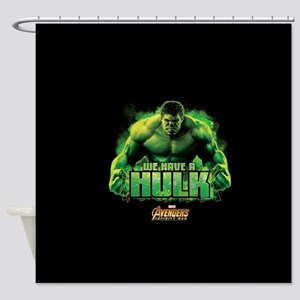 Avengers Infinity War Hulk Shower Curtain