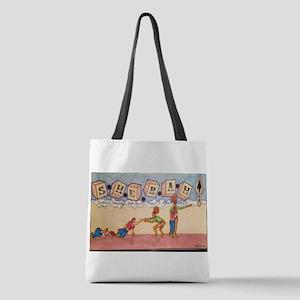 SHERAH Polyester Tote Bag