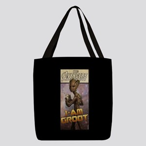 Avengers Infinity War Groot Polyester Tote Bag