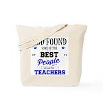 Teachers Best Tote Bag (one Side Design)