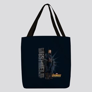 avengers infinity war Polyester Tote Bag