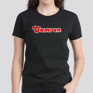 Retro Camron (Red) Women's Dark T-Shirt