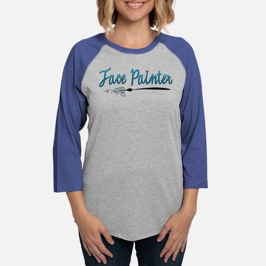 facepaintertshirt Long Sleeve T-Shirt