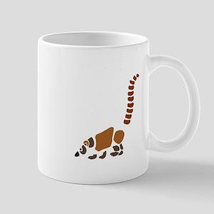 Cute Coati Mundi Cartoon Mugs