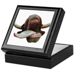 Cow Tongue Keepsake Box