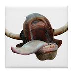 Cow Tongue Tile Coaster