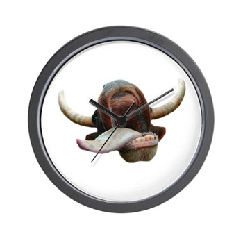 Cow Tongue Wall Clock
