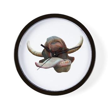 Cow Tongue Wall Clock