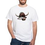 Cow Tongue White T-Shirt