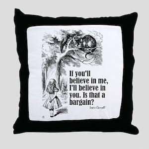"Carroll ""Believe In Me"" Throw Pillow"