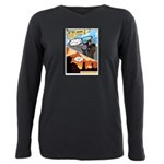 BCCG Comic (Rode Off) Plus Size Long Sleeve Tee