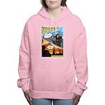 BCCG Comic (Rode Off) Women's Hooded Sweatshirt