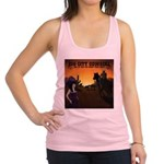 Rode Off Into The Sunset (That Night) Racerback Ta
