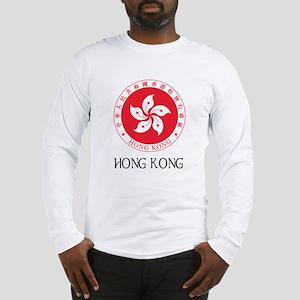 Hong Kong State Emblem Long Sleeve T-Shirt