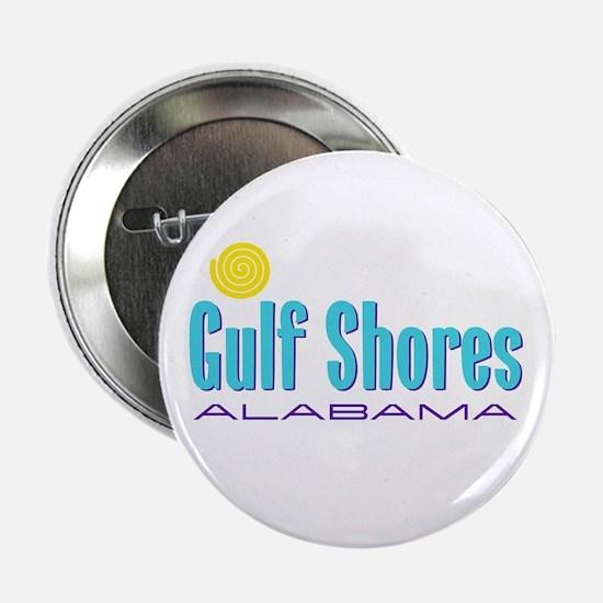 """Gulf Shores - 2.25"""" Button"""