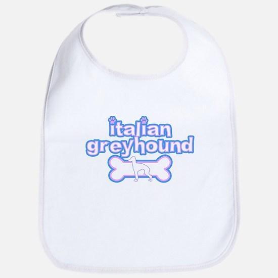 Powderpuff Italian Greyhound Bib