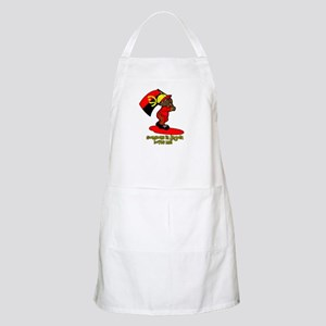 Someone in Angola loves me! BBQ Apron