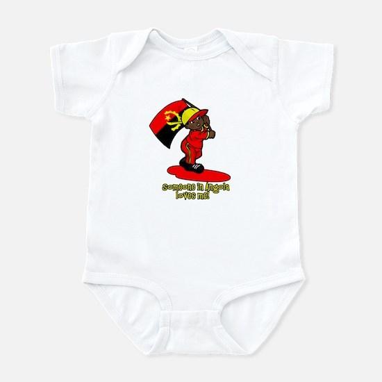 Someone in Angola loves me! Infant Bodysuit