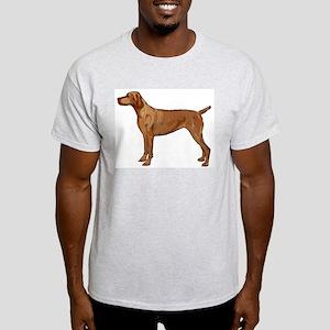 Vizsla portrait 2 Light T-Shirt