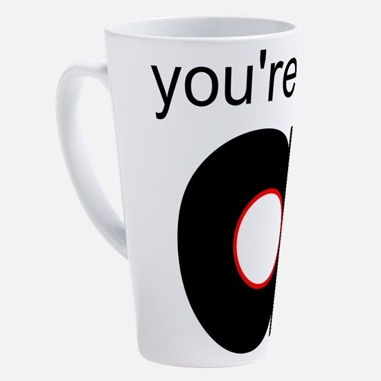 Cute In the hole 17 oz Latte Mug