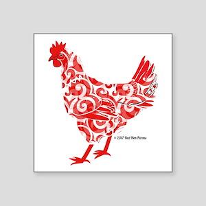 Red Hen Sticker