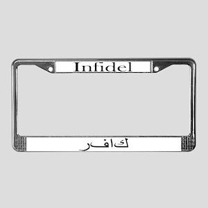 Infidel (License Plate Frame)