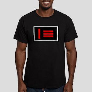 Master/slave (Dom/sub) Pride Flag Ash Grey T-Shirt
