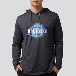 Nebraska Flat T Shirt Long Sleeve T-Shirt