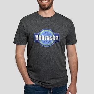 Nebraska Flat T Shirt T-Shirt