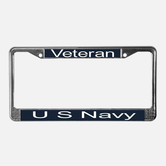 Cute Military License Plate Frame