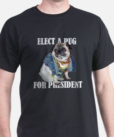 Pug for President TShirt