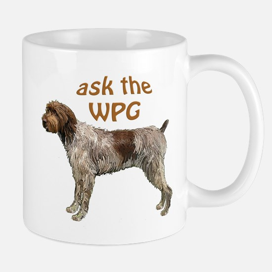 wirehaired Pointer ask Mug