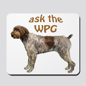 wirehaired Pointer ask Mousepad