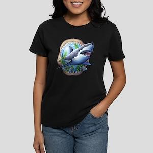 Great White 3 Women's Dark T-Shirt