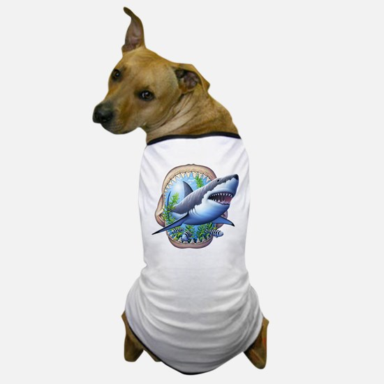 Great White 3 Dog T-Shirt